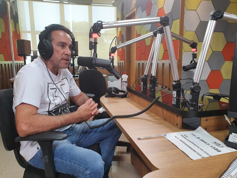 """ÁUDIO: Ivan Luiz reforça que vai continuar """"enxugando gelo para que alguém não morra afogado"""""""